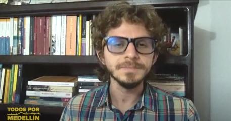 Daniel Suárez hace parte de Todos por Medellín